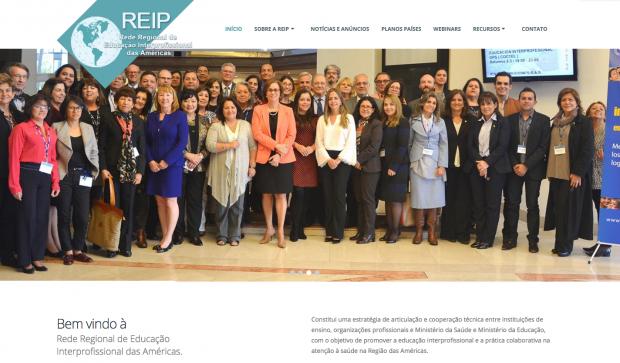 Conheça o site da Rede Regional de Educação Interprofissional das Américas – REIP