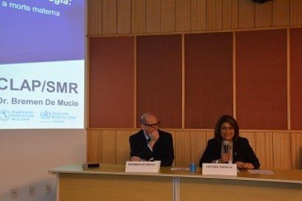 Abrascão: Zero Morte Materna, Mais Médicos e acesso a medicamentos são discutidos pela OPAS/OMS