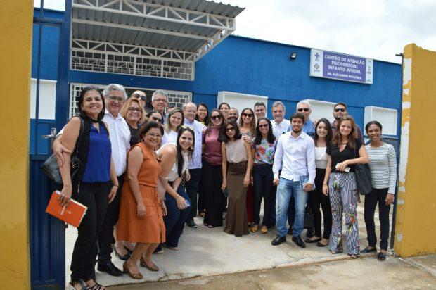 OPAS avalia como positiva visita realizada na APS de Teresina