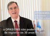 OPAS realizará seminário sobre 30 anos de SUS, que SUS para 2030?