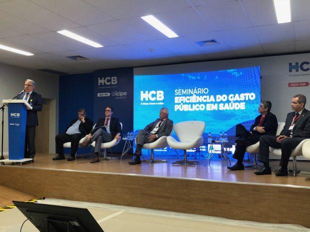 Estudos sobre a eficiência no gasto público em saúde são apresentados para autoridades em Brasília