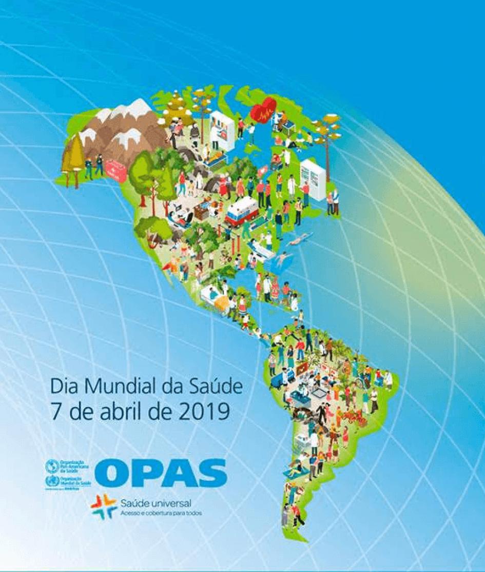 OPAS no Brasil reafirma a importância da APS Forte no Dia Mundial da Saúde