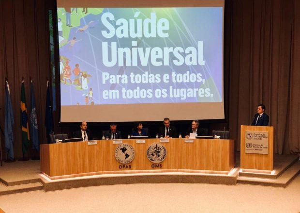 Ao vivo – Reunião Comemorativa dia Mundial da Saúde