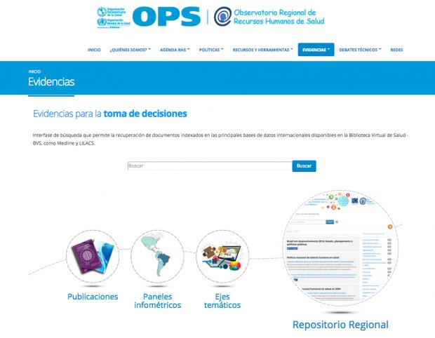 OPAS facilita o acesso ao conhecimento científico e técnico sobre Recursos Humanos em Saúde