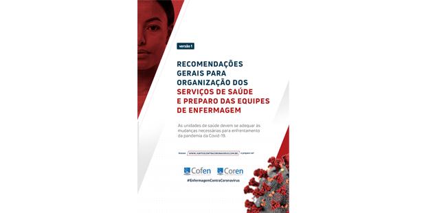Cofen publica diretrizes para serviços de Enfermagem frente o COVID-19