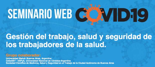 OPAS realiza seminário virtual sobre Gestão do trabalho, saúde e segurança dos trabalhadores da saúde na resposta à Covid-19