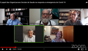 Debate – O papel da OSS na resposta à pandemia