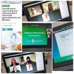 Treinamento da equipes do serviço teleconsulta de nutrição_ Fonte- Paola Oliveira