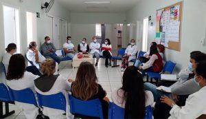 Apoiadores e articuladores das equipes de APS na resposta à Covid-19 em Araraquara/SP