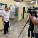 gravação de vídeo2 Fonte-Departamento de Comunicação da SEMSA Manaus