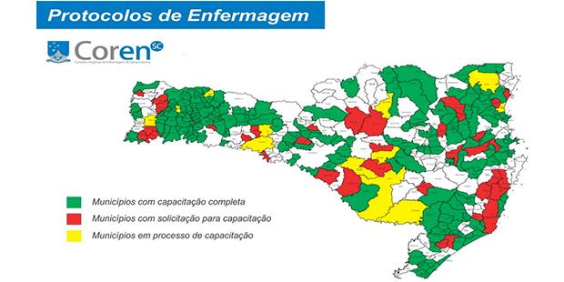 Implantação de Protocolos de Enfermagem para ampliação do acesso na APS em Santa Catarina