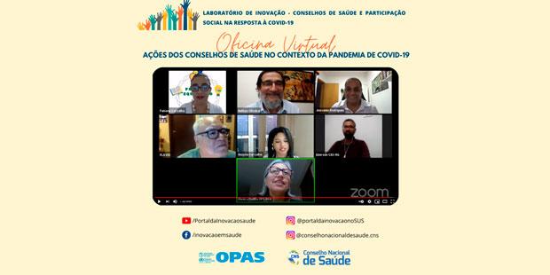 LIS CNS - Articulação em rede e apoio de ferramentas de comunicação transformam atuação dos conselhos de saúde durante a Covid-19