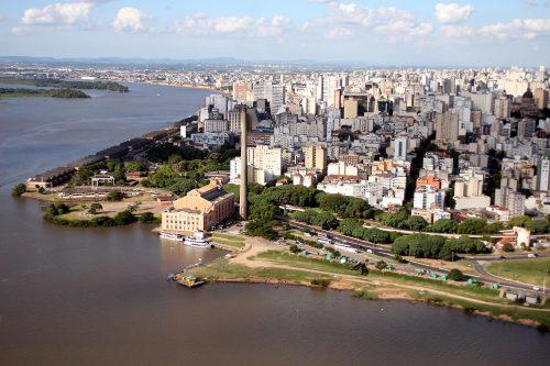 Porto Alegre, RS, 12/03/2010 Imagens aéreas de Porto Alegre. Foto: Ivo Gonçalves/PMPA